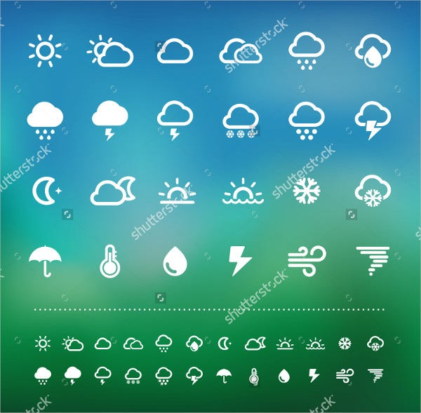 Vector Illustration Weather Icon