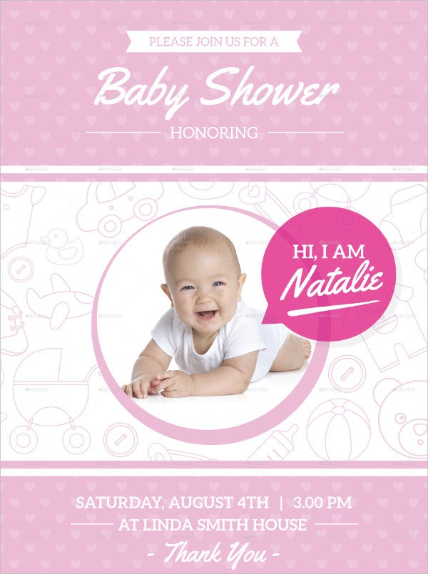 Baby Shower Invitaion Card