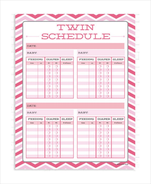 twins-baby-feeding-schedule-template