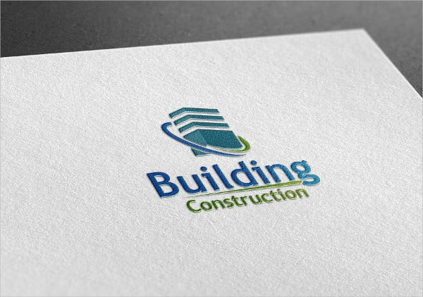 Building Construction Style Logo