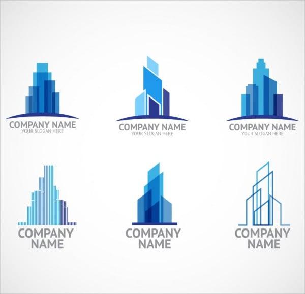 construction company logo template