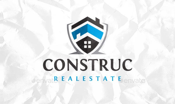 Home Building Construction Logo