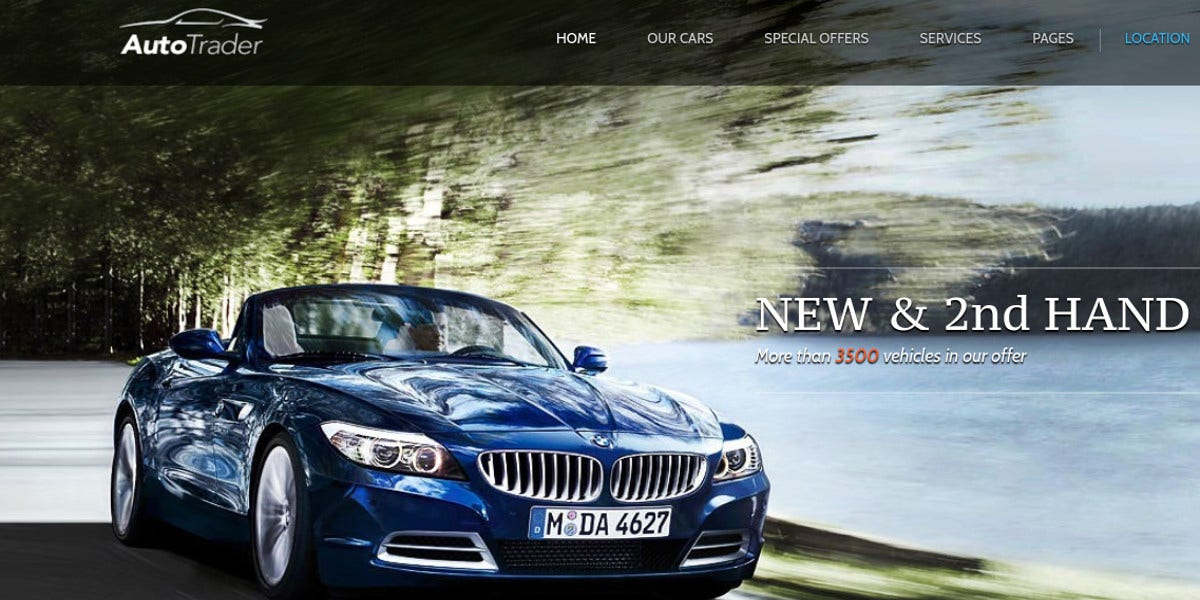 online-vehicle-muse-template