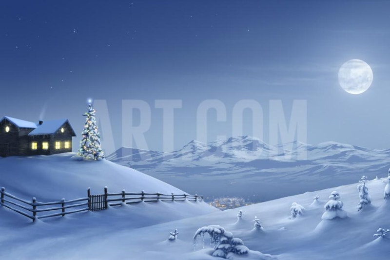 Awesome Christmas Painting