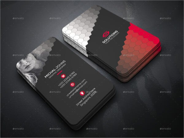 Smart Photography Business Card