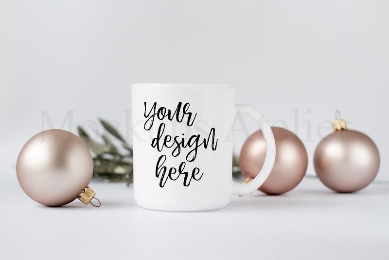 Christmas Cup Mockup