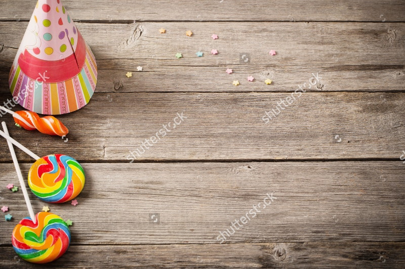 wooden birthday background