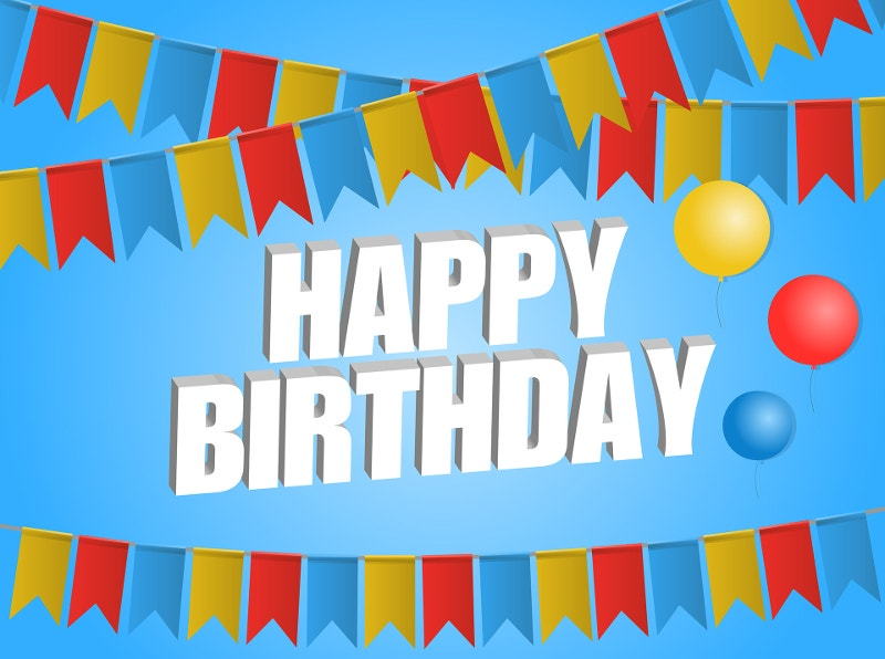 free download birthday background
