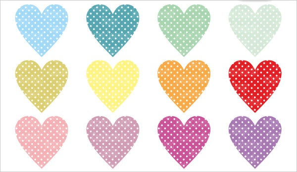 cardmaking clipart heart icon