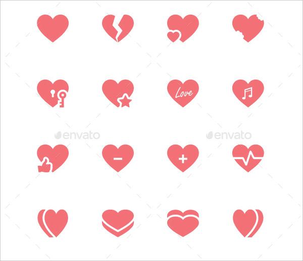 Heart Symbol Icon