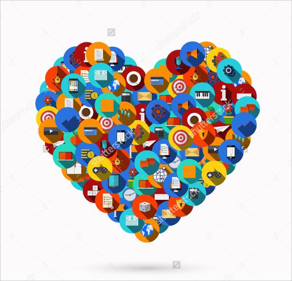 Modern Heart Icon
