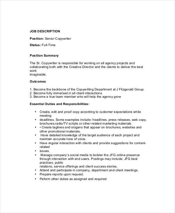 senior-copywriter-job-description-template-in-pdf