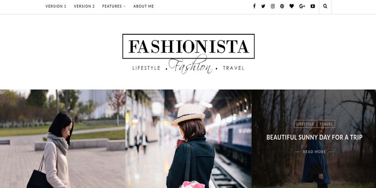 Super Fashion & Travel Photography Theme $29