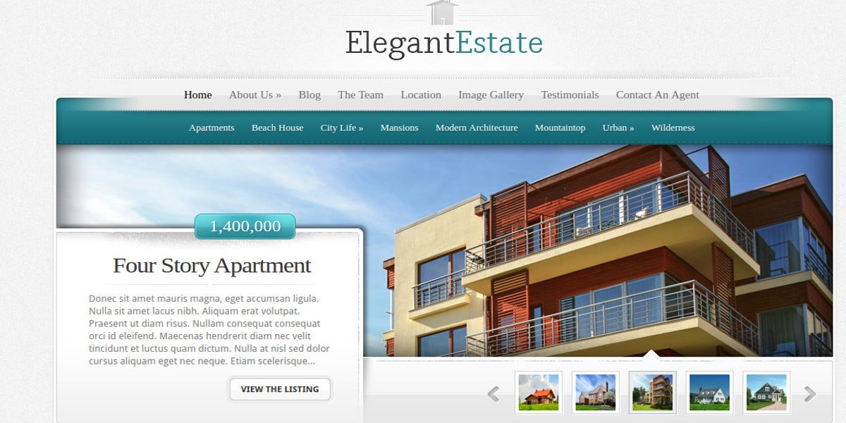 elegant-wordpress-theme-real-estate