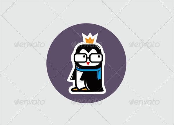 Company Design Penguin Logo