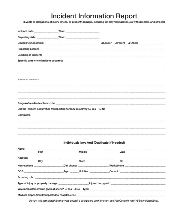 how to write an incident report in nursing An explanation, with examples, is included on the backside of the osha 300 form page 1 of 9 administrative reference – volume i incident reports september 1 once the report is filed, the nursing supervisor, department heads , administration, the facility's attorney, and the insurance company may review it because.