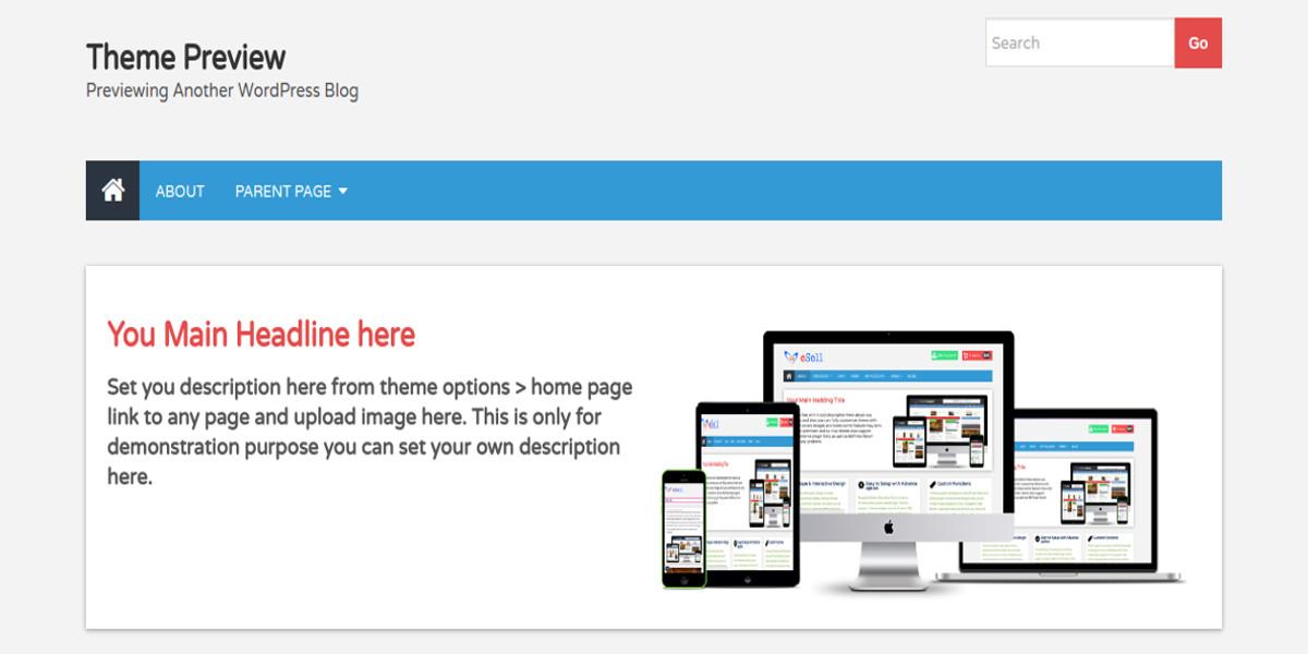 responsive seo optimize shopping cart theme1