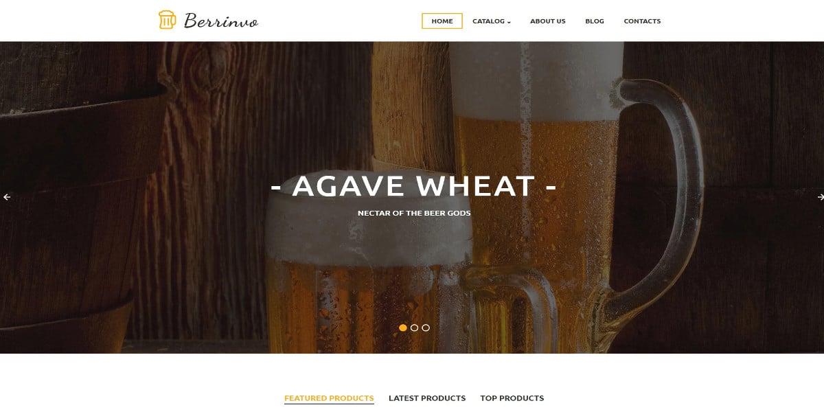 brewery responsive virtuemart template 139