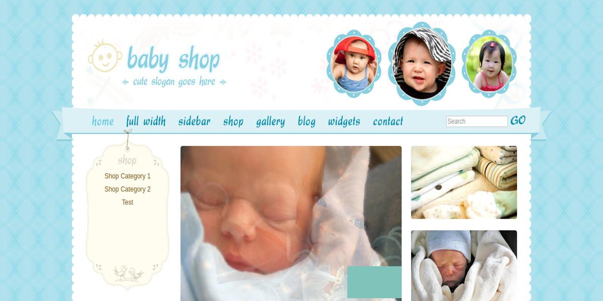 online baby store shopping cart wordpress theme 76