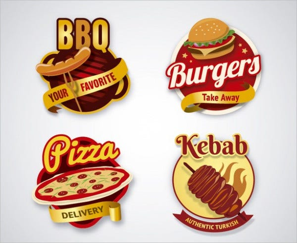 21 Fast Food Logos Free Psd Vector Ai Eps Format Download