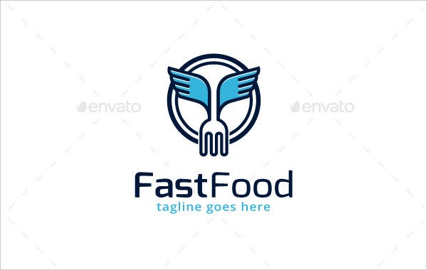 21 fast food logos free psd vector ai eps format