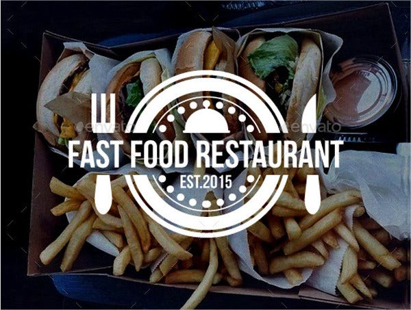 Fast Food Restaurant Logo Template