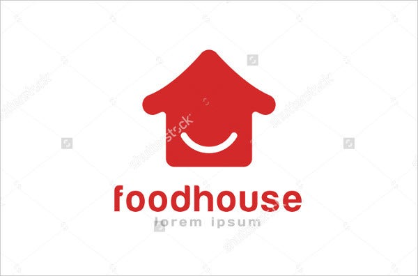 japanese fast food logo template