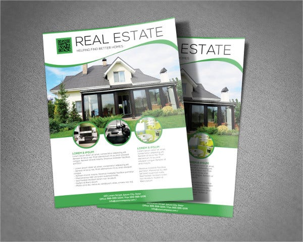 Editable Real Estate Flyer Template