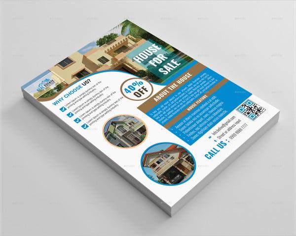 House Real Estate Flyer
