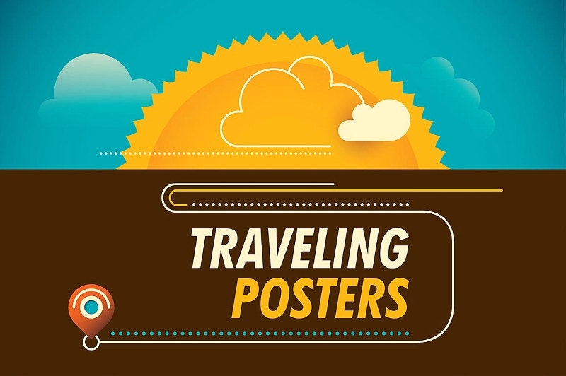 Vacation Traveling Poster