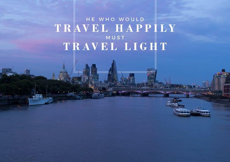 typography travel poster