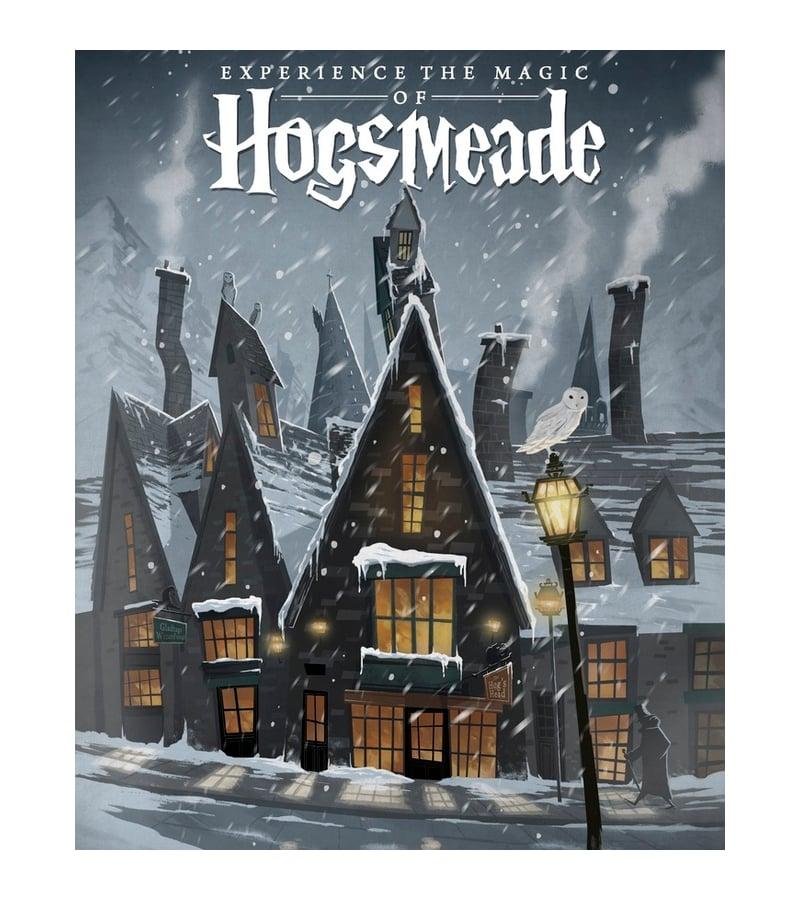 hogsmeade travel poster