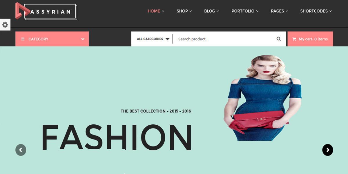 responsive fashion wordpress theme 552