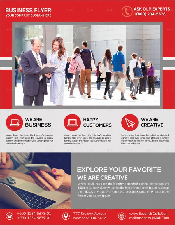 Creative Agency Business Flyer Template