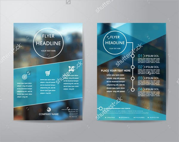 creative businses flyer template