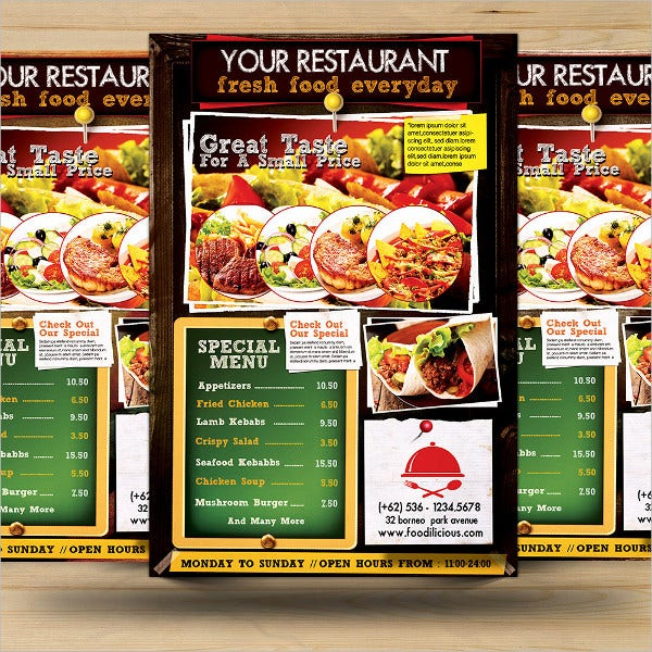 Restaurant Promotion Flyer