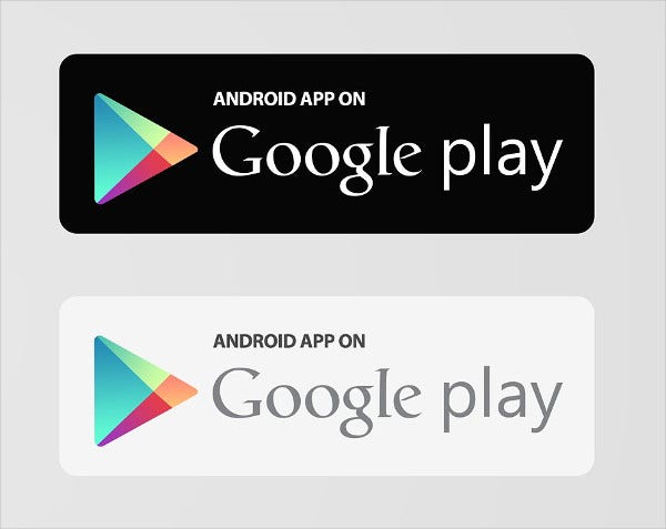 App Store & Google Play Button
