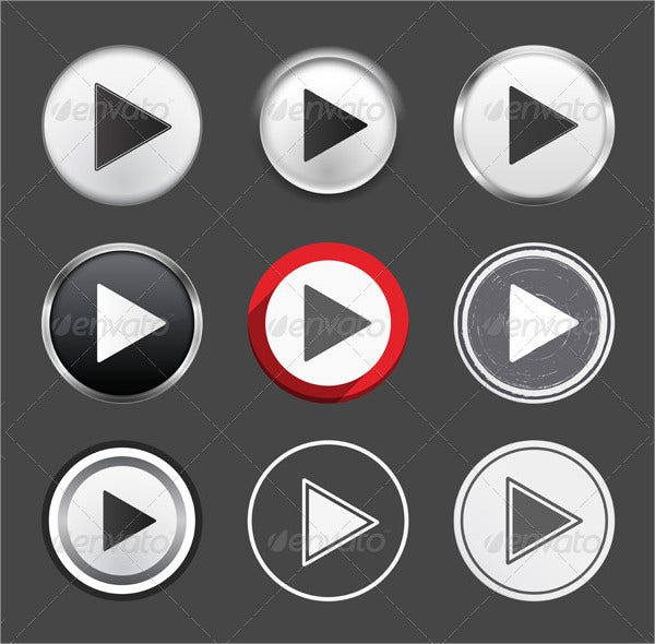 different set play buttons