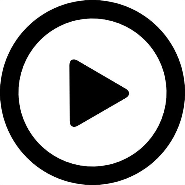 Play Button Free Icon