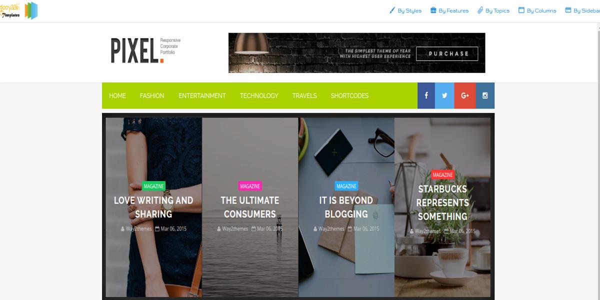 free multipurpose blogger template1
