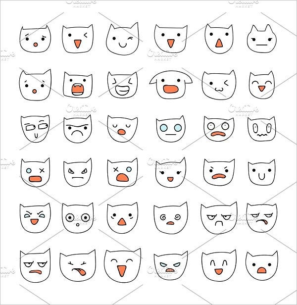Behavioural Cat Emoji