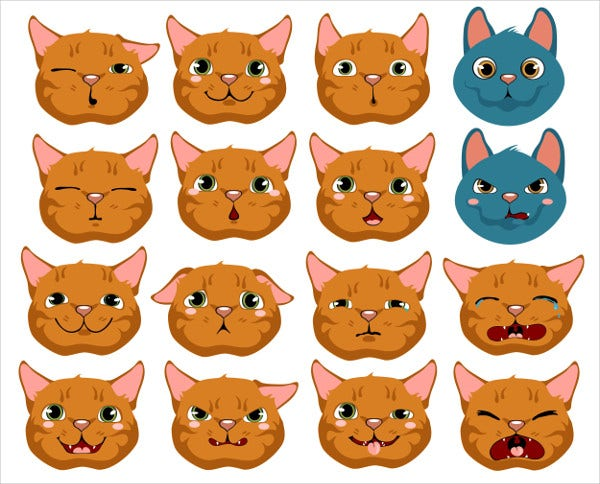 Cats Expressing Emotions