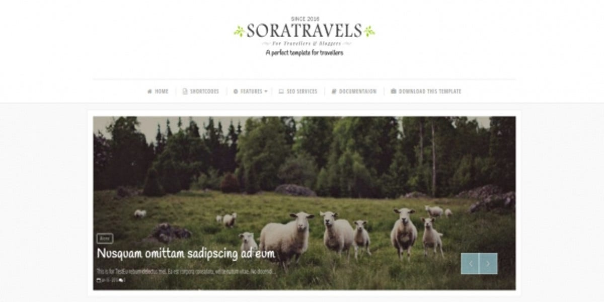 free-travel-blogger-template