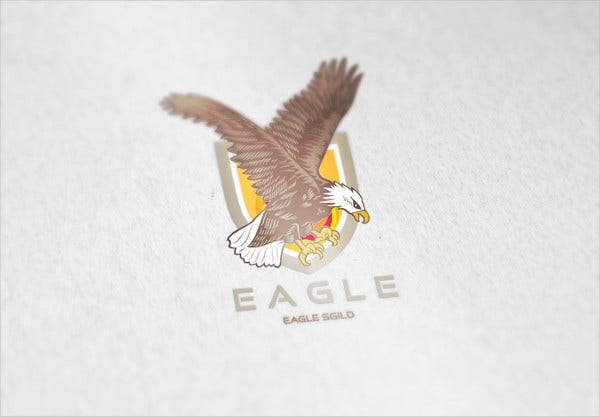 Eagel Shiled Logo Design