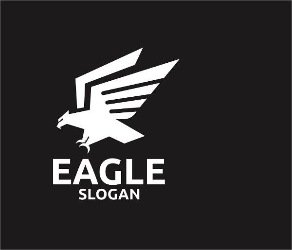 Flying Eagle Logo Template
