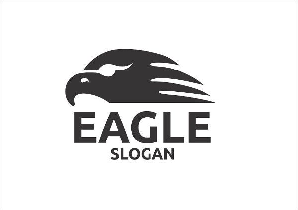 Printable Eagle Logo Template
