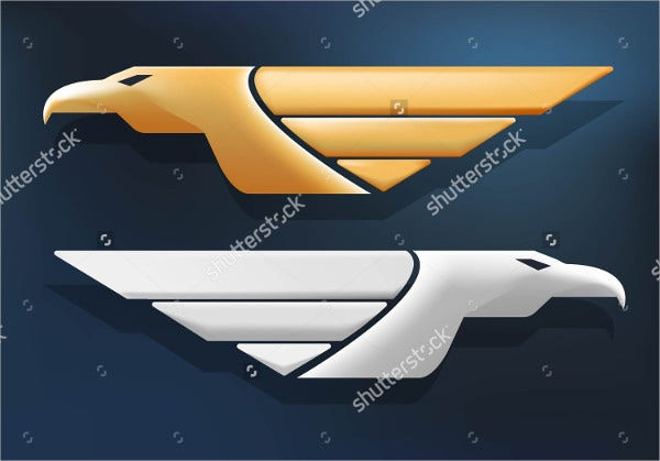 Vector Design Eagle Logo