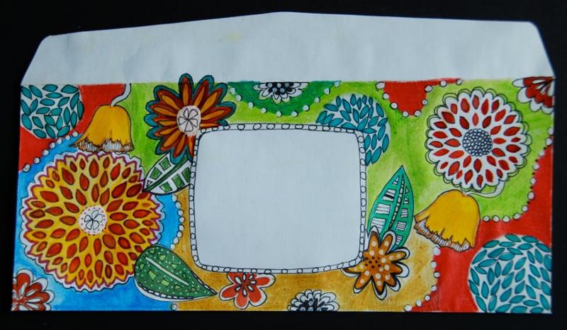 handmade envelope design