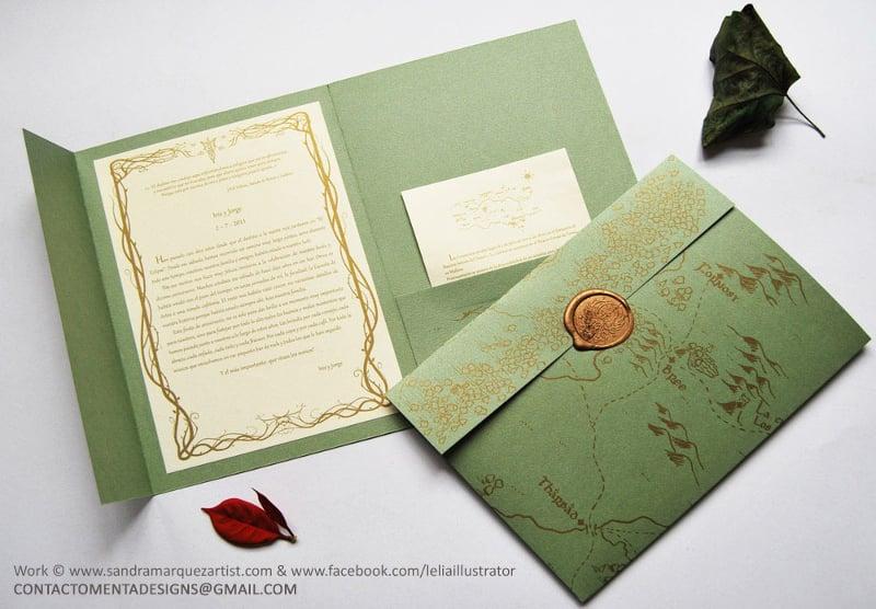 envelope for wedding invite
