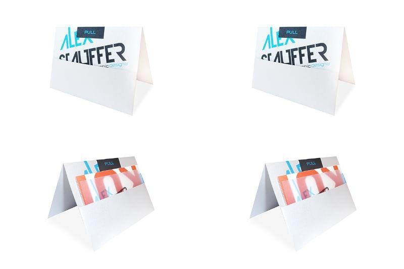 envelope design for self promotion